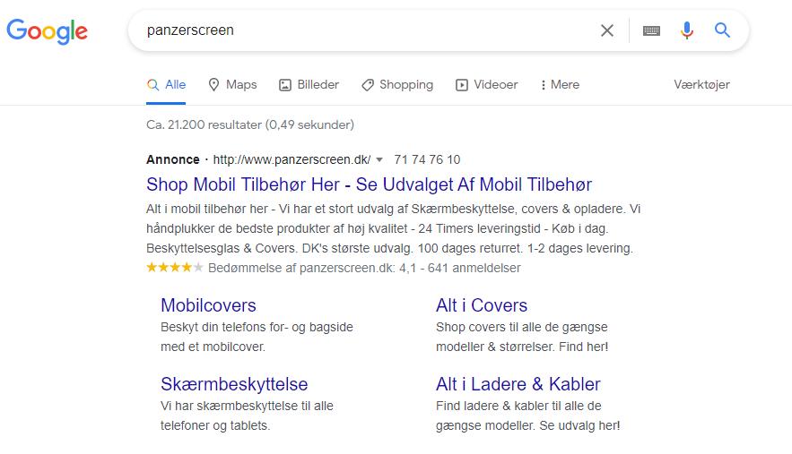 Google Ads annoncering 2